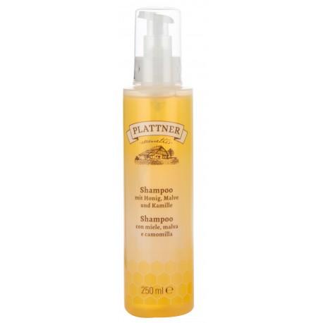 Shampoo mit Honig, Malve und Kamille