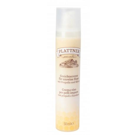 Nährende Gesichtscreme mit Honig und Malve 50 ml