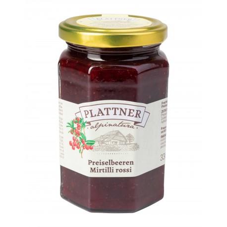Confettura mirtilli rossi (330 g)