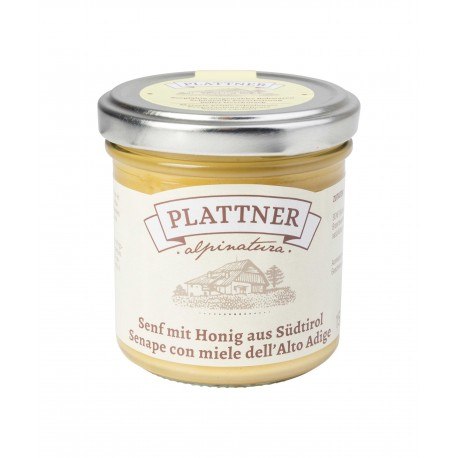 Mustard with honey from South Tyrol 150g