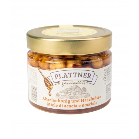 Acacia honey & hazelnut 320g