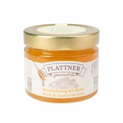 Acacia honey with honey comb 360g
